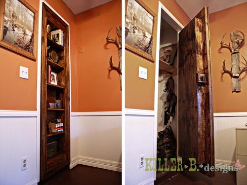 Hidden Bookcase Door Doors Entertainment Rec Rooms Storage Ideas The Is