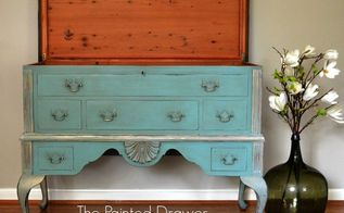 painted furniture chest french cedar, chalk paint, painted furniture