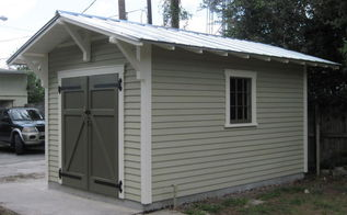 new old shed, doors, outdoor living, 10 x15 Craftsman shed
