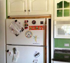 Wallpaper Refridgerator Refinish New Look, Appliances, Diy, Kitchen Design,  Painting, Wall
