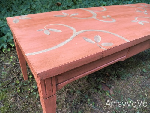 Coral is the hot color of the season hometalk for Perfect colored coffee tables ideas