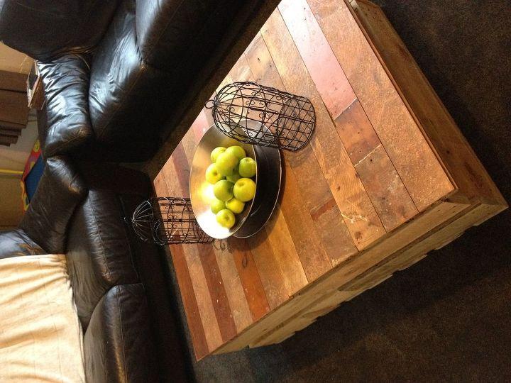 DIY Modern Rustic Inspired Living Room