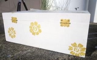 diy jewelry box up cycling, crafts, repurposing upcycling