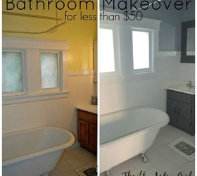 Superb The Power Of Paint Shades Of Grey Apartment Bathroom Reveal Paintjob, Paint  Colors, Painted