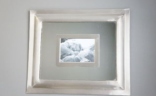 make a mirror picture frame using what you already have, crafts, wall decor