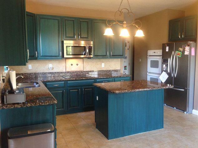 galapagos blue kitchen kitchen design painting. beautiful ideas. Home Design Ideas