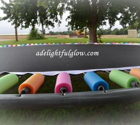 covering trampoline springs with pool noodles how to outdoor furniture outdoor living - Trampoline Springs