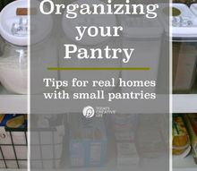 organizing a small pantry, closet, organizing, storage ideas