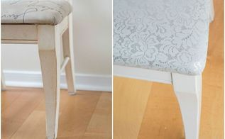how to reupholster a chair cushion a chair makeover, how to, reupholster