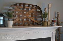 diy tobacco basket, crafts, home decor, how to
