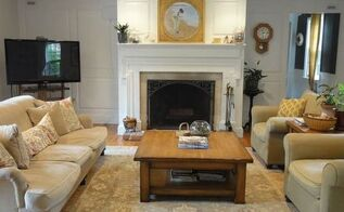 living room refresh paint goes a long way, home decor, living room ideas, paint colors, painting