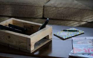 pallet tray for the coffee table, diy, organizing, pallet, woodworking projects