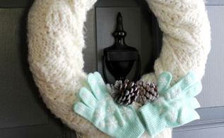 diy winter wreath, crafts, seasonal holiday decor, wreaths
