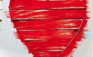 create great wall art using wood shims, crafts, diy, painting, valentines day ideas, wall decor