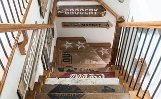 how to spring load your home with old signs wear your helmut, home decor, wall decor