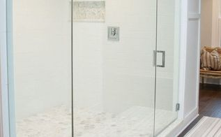 holy showers batman a diy d dream shower for two, bathroom ideas, diy, tiling