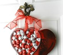 valentine s day chocolate wall candy, seasonal holiday decor, valentines day ideas, wall decor