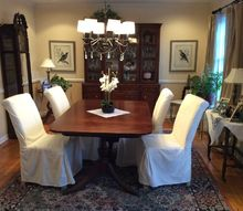 q dining room update, dining room ideas, home decor, home decor dilemma, painted furniture, painting wood furniture, reupholstoring, reupholster