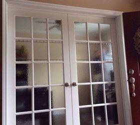 DIY Stained Glass for Privacy on Doors and Windows | Hometalk