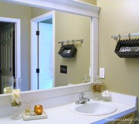 Merveilleux Framing Bathroom Mirrors With Crown Molding Bathroom Mirror Framed With  Crown Molding | Hometalk