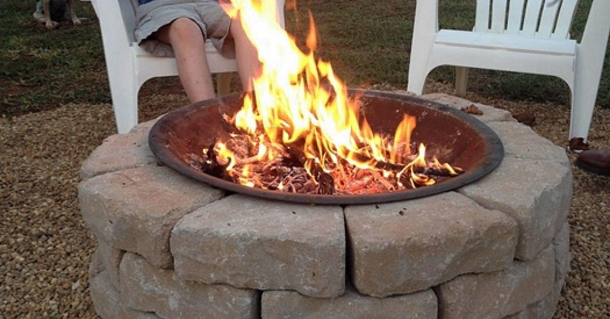 Make an Inexpensive Backyard Fire Pit | Hometalk