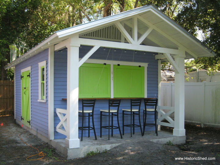 Custom Snack Shack Shed Hometalk
