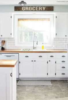 kitchen design redo farmhouse cottage, diy, kitchen design