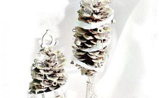 pine cone christmas junk trees, christmas decorations, crafts, seasonal holiday decor