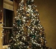 aqua christmas tree, seasonal holiday d cor, My tree went aqua without any red this year Check out the up close photos of ornaments I d love to hear what you think about the gold and aqua together