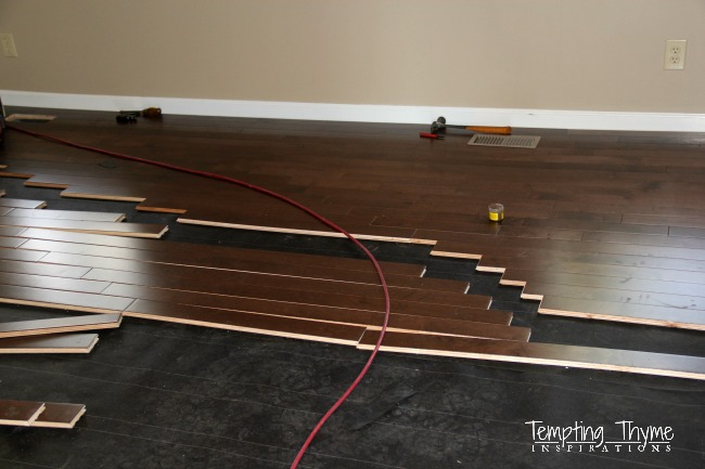 Replacing carpeted floors with hardwood floors hometalk for Replacing hardwood floors