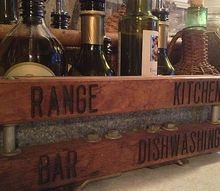 industrial bistro, home decor, storage ideas