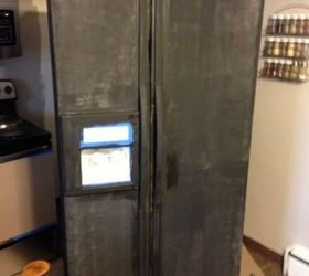 I Painted My Refrigerator With Chalkboard Paint, Appliances, Chalk Paint,  Chalkboard Paint,