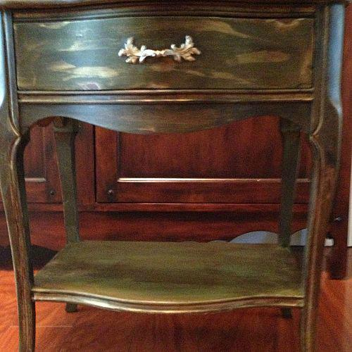 Painted Furniture Thrift Furniture With Chalk Paint And Dark Wax Hometalk