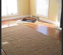 pottery barn inspired thrifty find, flooring