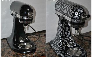 leopard kitchenaid mixer, appliances, crafts, kitchen design