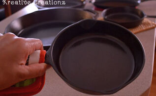 how to clean and season a cast iron skillet, cleaning tips, how to