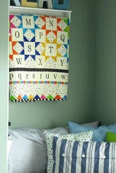 children s reading nook, shelving ideas, storage ideas, I made some easy envelope pillow cases for a comfy spot to curl up in