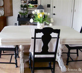 My 40 Yard Sale Dining Room Table Amp Chairs, Chalk Paint, Painted Furniture ,