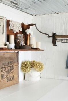 farmhouse laundry room, home decor, laundry rooms, Laundry Room After