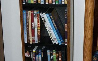 springcleaningchallenge the after pics, cleaning tips, DVDs are shelved