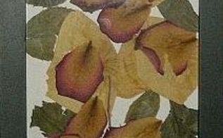 photos using dried flower petals, home decor