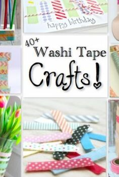 40 washi tape crafts, crafts, 40 fabulous washi tape crafts that cost very little money or time What s not to love