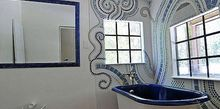 bathroom mosaic, bathroom ideas, tiling, I call it Wall Jewelry