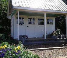 garden tour, gardening, The garden shed