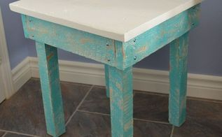 making pallet tables, diy, painted furniture, pallet
