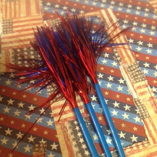DIY Wooden Patriotic Firecrackers Hometalk