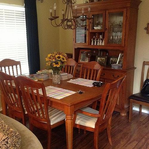 what kind of paint to use on dining room table | Hi - I'd like to paint my dining room table and china ...