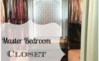 master bedroom closet makeover the reveal, bedroom ideas, cleaning tips, closet