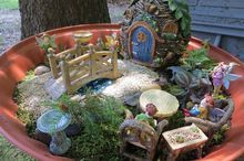 planting fairy gardens, crafts, gardening, outdoor living, A Fairy Garden