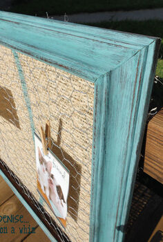 thrift store frame memo board, cleaning tips, home decor, repurposing upcycling